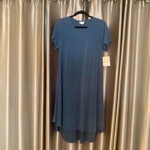 NWT Blue LuLaRoe Carly Dress!  Size Medium